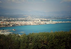 on top of Antibes (stefanjurca) Tags: panorama antibes sea old town france coast