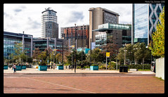 Media City #1 (jason_hindle) Tags: manchester unitedkingdom greatermanchester ipadair2 salford lightroomcc salforddocks autumn olympus1240f28 mediacity snapseed olympusomdem5 salfordquays