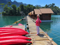 Pinktober Canoes! Khao Sok National Park - Thailand (ShambLady in Throwback times, uploading older pics) Tags: khao sok national park southern thailand 2017 rainforest lake mountain range pink rosa boat canoe surat thani nature pristine pure peaceful green limestone karst tzefira myself floating cabins swiss chalet boardwalk board walk pinktober breast cancer awareness khlong pra sang yee relax ont water ploenprai rose ורוד розовый 粉 lyserød ροζ गुलाबी merah jambu ピンク rosado pembe hồng breastcancer month ribbon october