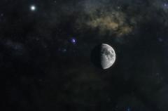 The Moon (Estolen Arts) Tags: moon space milkyway galaxy nikon philippines