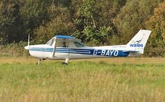 G-BAYO (goweravig) Tags: gbayo visiting cessna 150 aircraft swansea wales uk airport