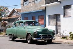 Green 52 (kodakid18) Tags: oldsmobile 1952 olds1952 classiccars cubacars varaderomatanzascuba cuba architectureheritage architecture oldcars architecturedetails varaderocuba varadero sunny street tghof