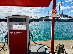 Ibiza Oktober 2018 (Ibiza Magic) Tags: ibiza eivissa oktober 2018 talamanca beach strand hotel argos marina botafoch tankstelle