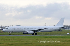 A321-231 2-MNBV ex B-2371 all white (shanairpic) Tags: jetairliner a321 airbusa321 shannon kemble 2mnbv