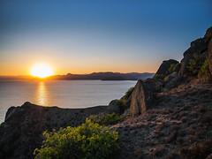 Меганом-12 (nbannikov) Tags: закат крым море путешествие меганом crimea sunset sea mountains nature landscape lumixg80