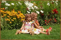 Anne-Moni und Tivi ... der Tag im Park war schön ... (Kindergartenkinder 2018) Tags: schlosspark arcen blumen kindergartenkinder annemoni tivi venlo limburg niederlande