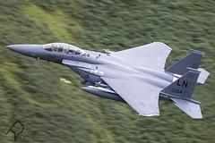 98-0134 / United States Air Force / F-15E Strike Eagle (Peter Reoch) Tags: 980134 usaf united states air force mcdonnell douglas f15e strike eagle unitedstatesairforce mcdonnelldouglasf15estrikeeagle usafe raf raflakenheath lakenheath ln royalairforce lfa7 wales low flying training area mach loop machloop 48fw 48th 48thfighterwing