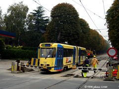 7796-12460§0 (VDKphotos) Tags: stib mivb bn pcc t7700 tram livrée91 l56 belgium bruxelles
