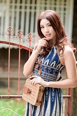 DSC_4885 (錢龍) Tags: 張倫甄 光復新村 外拍 時裝 眷村 nikon d850 cute girl 人像 甜美 長髮