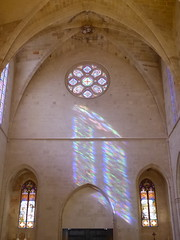 schiefes Fenster...?- skewed window...? (Anke knipst) Tags: menorca spain kathedrale cathedral ciutadella sonne sunshine