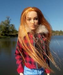 wind in her hair, wind over the water (ArtCat80) Tags: barbiecollector barbie mera meramattel doll mattel dc ww woman wonder wonderwoman
