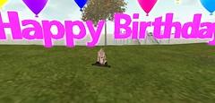 HAPPY BIRTHDAY (sᴏᴘʜɪᴇ) Tags: birthday secondlife pose photo happy daughter mother proud 2yearsold