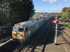 50033 Bewdley (Flikrman Gaz) Tags: englishelectric class50 50033 glorious severnvalleyrailway bewdley