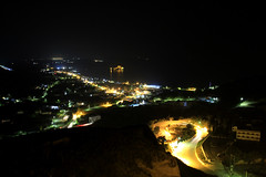 I can see you... (GeorgeKats) Tags: nightshot longexposure outdoors outside lights kos dodekanisa dodecanese landscape night nighscape nightroads