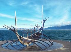 Reykjavik longboat (LanceAmbulance) Tags: arctic iceland longboat sculpture reykjavik