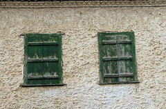 Together (Argyro Poursanidou) Tags: window wall old house home texture together two decay abandoned green 2dwf twotogether