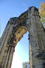 St Marys Abbey Arch North (Ravensthorpe) Tags: york buildings historical ruins