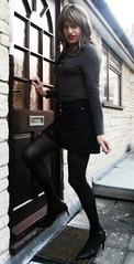 Back Inside :-) (Amber :-)) Tags: denim mini skirt tgirl transvestite crossdressing