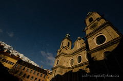 St James Cathedral Square (Colin Campbell Photography) Tags: austria baroque cathedralofstjames domzustjakob innsbruck tyrol