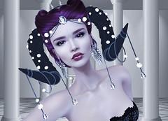 Mila Blauvelt (Mila Blauvelt) Tags: milablauvelt model blogger avatar virtual secondlife shopping sl style gothica makeup makeups catwa omega poema lipstick eyeshadow appliers headbento classicavatar tattoolayers lips
