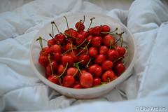Cherries (ElisaArduini) Tags: food cibo cibi cherry cherries ciliegia ciliegie red rosso nature palombara palombarasabina italia italy photography fotografia flickr photo photos foto nikon d3200 nikond3200