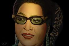 Umm Kulthum (CapMarcel) Tags: umm kulthum famous egyptian singer