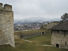 Walls and barutana (powder tower) within the Fortress, Jajce, Bosnia and Herzegovina (Paul McClure DC) Tags: jajce balkans feb2017 bosniaandherzegovina castle fortress historic architecture scenery