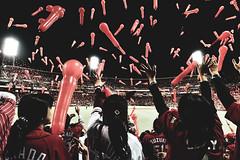 RED DELIGHT 赤の歓喜 (Sign-Z) Tags: red baseball hiroshima japan carp baloon nikon d4s 2470mmf28g 広島県 広島市 広島カープ 赤 風船 マツダスタジアム
