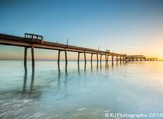 Deal-9 (RJ Photographic (1 million views Thank You)) Tags: 06 09 deal grads kent leefilters nd sun bigstopper longexposure pier seascape soft sunrise water