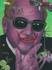 Wratschko! (daque) Tags: daque wwwdaqueeu joker künstler kunst kurt illustration gamlitz stipendium artist residence