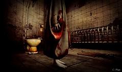 Merciful Way (Loegan Magic) Tags: secondlife ghost ratsblood horror bathroom toilet sheetblood gory scary halloween haunted house