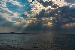 Hope (andbog) Tags: seascape nature natura sea mare beach spiaggia mediterranean mediterraneo corfù gr grecia greece ioniansea marionio paralia kerkyra αχαράβη κέρκυρα ελλάδα acharavi ionianislands sonya6000 sony alpha ilce a6000 emount mirrorless csc sonya oss sel selp1650 1650mm sonyα sony⍺6000 sonyilce6000 sonyalpha6000 sonyalpha ilce6000 apsc summer estate costa coast ⍺6000 clouds nuvole country sunbeams nuvoloso overcast cloudy sunrays