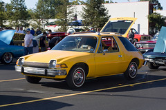 yes, that's a yellow AMC Pacer (Robert Couse-Baker) Tags: cruisefest2018 cars fultonavenue sacramento pacer amcpacer americanmotors 1970s