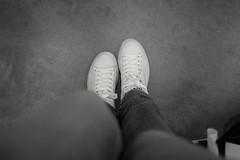 This Boots are Made for ... (88pix) Tags: fuji fujit1 fujifilm schwarzweis blackwhite touit1832 1832 touit schuhe boots