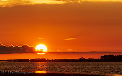 Sunset on Apalachicola Bay on Apalachicola Bay - Apalachicola, FL (Paul Diming) Tags: pauldiming summer apalachicolaflorida franklincountyflorida apalachicola landscape dailyphoto franklincounty floridapanhandle d7200 florida unitedstates us