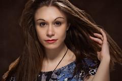 Untitled #1 (Riccardo Camera) Tags: girl longhair enigmatic beauty beautiful studiolight shine portrait eos canon