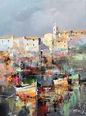 Croatian Coast By Branko Dimitrijevic, Oil Painting (katalaynet) Tags: follow happy me fun photooftheday beautiful love friends