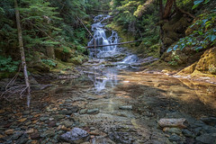 Olallie Creek Falls (writing with light 2422 (Not Pro)) Tags: olalliecreekfalls washingtonstate waterfall creek rocks reflections serene richborder sonya7 variotessartfe42470