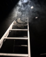 ....to heaven (wollas) Tags: shoes teatro stairs stair theater theatre iphone