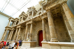 A Greek colonnade and entablature (Raoul Pop) Tags: stone relief act building art time ionic structure frieze colonnade greek technology descriptor eaves architecture carving antique historic column object berlin germany de