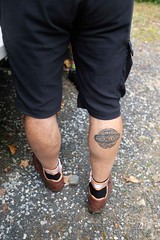 FFD 2018 (Shu-Sin) Tags: ffd 2018 ffd18 18 french fender day ct lyme jpw peter weigle bicycle bike velo ancien old vintage randonneur randonneuse touring 650b event gathering stronglight tattoo tat calve
