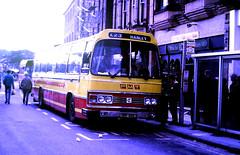 Slide 124-50 (Steve Guess) Tags: buxton derbyshire england gb uk coach bus pmt potteries duple xbf53s leyland leopard