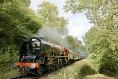 Duchess of Sutherland near Hampton Loade (andrewfarmer1) Tags: steam steamengine steamrailway severnvalleyrailway svr 6233 duchessofsutherland riversevern railway trains 2018