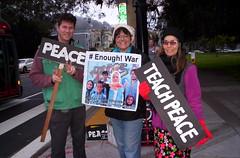 100_2701 (Haight Ashbury Neighborhood Peace Vigil) Tags: haight ashbury peace vigil iran iraq afganhistan syria yemen war moratorium golden gate park panhandle san francisco september 2018