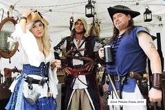 (Grace Pedulla Dillon) Tags: pirate piratesverobeachpiratefestival2018 fun reenactment garb costume cosplay