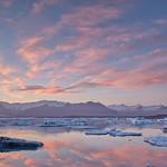 Jokulsarlon Sunset - Iceland thumbnail