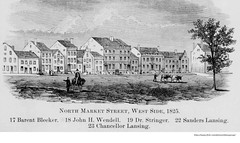 1825  north market st   (broadway) (albany group archive) Tags: bleecker barent sanders lansing chancellor gerritt john wendell samuel stringer 1820s old albany ny vintage photos picture photo photograph history historic historical