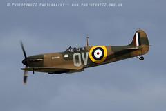 7339 Spitfire N3200 (photozone72) Tags: canon canon7dmk2 canon100400f4556lii 7dmk2 aviation aircraft duxford iwmduxford spitfire warbirds wwii