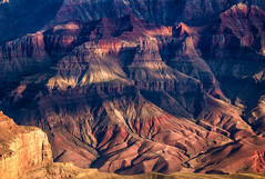 Light & Shade (DMontalbano) Tags: 500px mountain peak range ridge hill extreme terrain valley rock strata escarpment snowcapped cliff steep grand canyon north rim usa dan montalbano photography travel landscape light shade