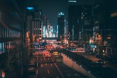 Shinbashi - Tokyo, Japan (inefekt69) Tags: shinbashi tokyo japan shimbashi night neon street nikon d5500 日本 新橋 東京 ginza 銀座